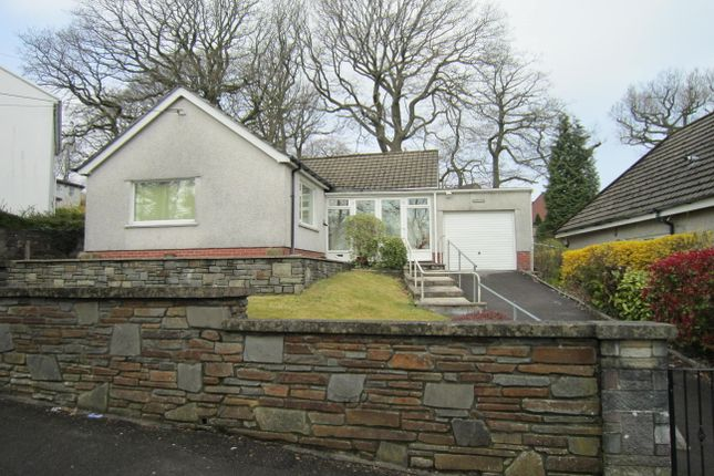 Thumbnail Detached bungalow for sale in Heol Fargoed, Bargoed