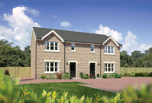 "Thumbnail Semi-detached house for sale in ""Caplewood"" at Hunter Street, Auchterarder"