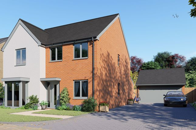 Thumbnail Detached house for sale in Doddington Road, Earls Barton, Northampton