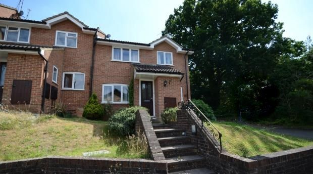 Thumbnail End terrace house to rent in Bloomsbury Way, Camberley