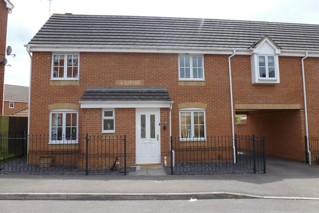 Thumbnail Link-detached house for sale in Fawn Crescent, Hedge End, Southampton