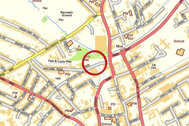 Map 2  of Station Road, Rushden NN10