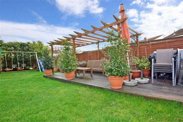Rear Garden of Burrow Road, Chigwell, Essex IG7