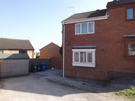 Thumbnail Semi-detached house for sale in Cromdale Avenue, New Whittington, Chesterfield, Derbyshire