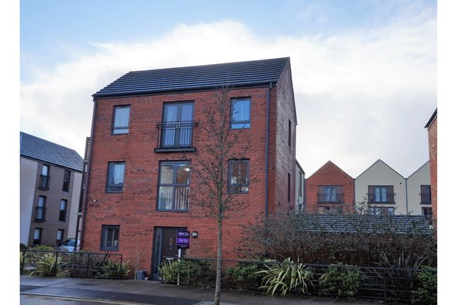 Thumbnail Link-detached house for sale in Langdon Road, Swansea