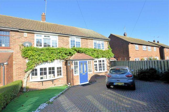 Thumbnail End terrace house for sale in Pancroft, Abridge, Romford