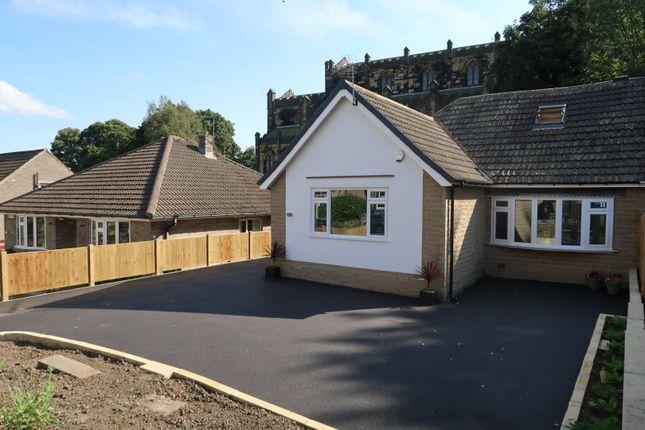 4 bed semi-detached bungalow for sale in Mountjoy Road, Edgerton, Huddersfield HD1