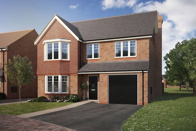 "Thumbnail Detached house for sale in ""The Pebworth"" at North Common Road, Wivelsfield Green, Haywards Heath"