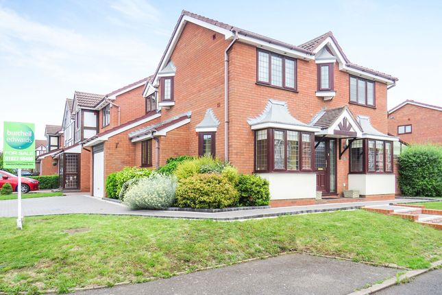 Thumbnail Detached house for sale in Lindisfarne, Glascote, Tamworth