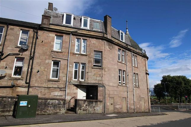 Thumbnail Flat for sale in Manor Crescent, Gourock, Renfrewshire