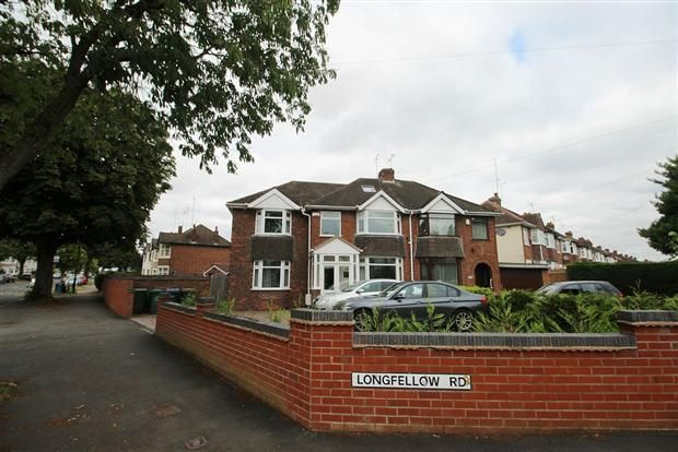 Thumbnail Semi-detached house for sale in Longfellow Road, Coventry