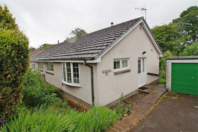Thumbnail Semi-detached bungalow for sale in Brackenrigg Drive, Keswick, Cumbria