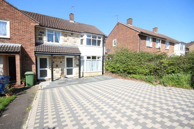 Thumbnail End terrace house to rent in Bull Lane, Bracknell