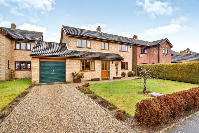 Thumbnail Link-detached house for sale in The Fields, Tacolneston, Norwich