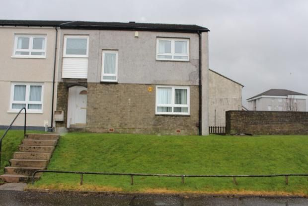 Thumbnail End terrace house for sale in Pentland Avenue, Port Glasgow