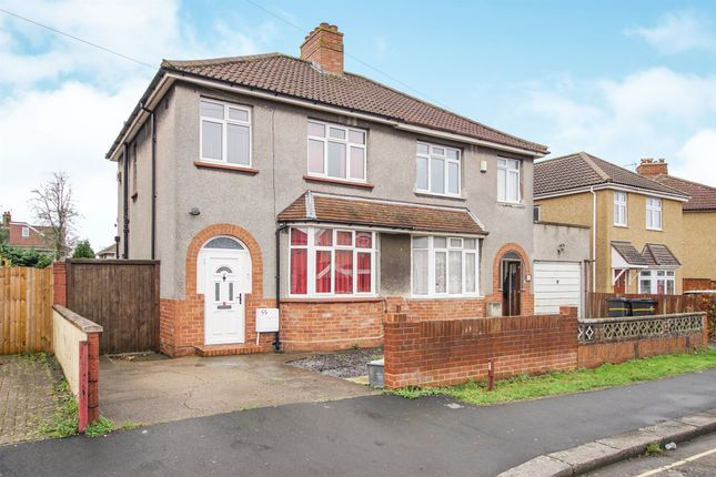 Thumbnail Semi-detached house for sale in Luckington Road, Westbury-On-Trym, Bristol