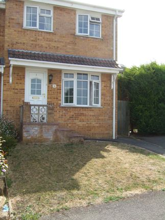 Thumbnail End terrace house to rent in Happy Island Way, Bridport