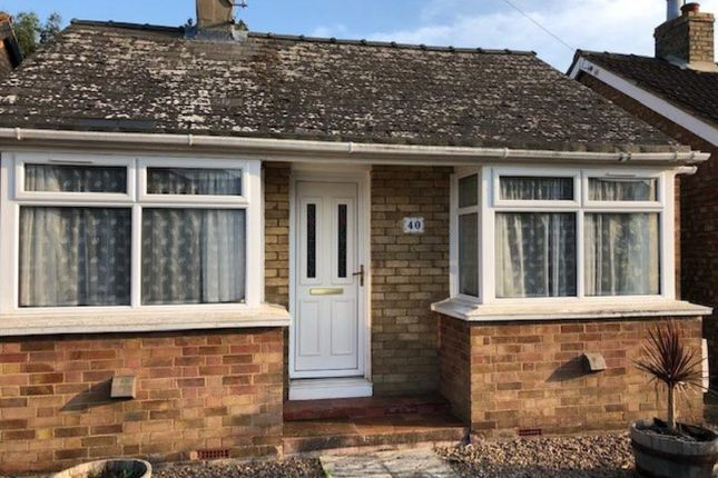 Thumbnail Detached bungalow to rent in Highfield Road, March