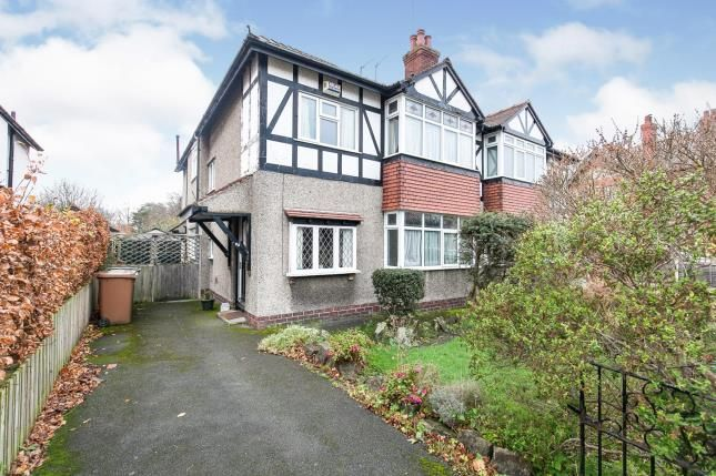 Thumbnail Semi-detached house for sale in Hilbre Road, West Kirby, Wirral, Merseyside