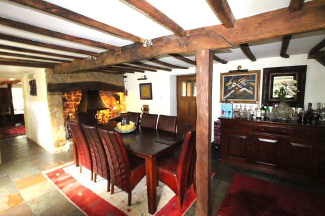 Dining Room And Inglenook Fireplace