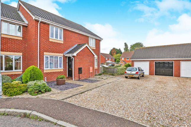 Thumbnail Terraced house for sale in Bellview Close, Briston, Melton Constable