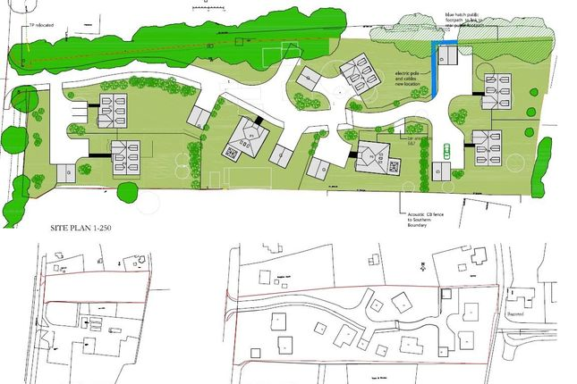 Thumbnail Land for sale in Aldermaston Road, Pamber Green, Tadley