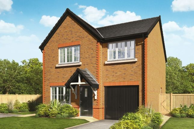 Thumbnail Detached house for sale in Orchard Fields Newcastle Road, Shavington, Crewe