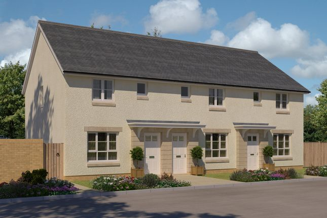 "Thumbnail End terrace house for sale in ""Balinotre"" at Oldmeldrum Road, Inverurie"