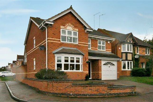 Thumbnail Detached house for sale in Lordswood Close, Wootton, Northampton