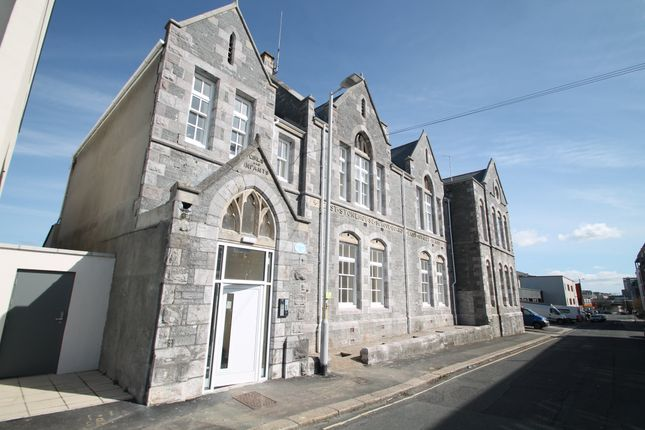 Thumbnail Flat to rent in The Old School House, George Place, Plymouth