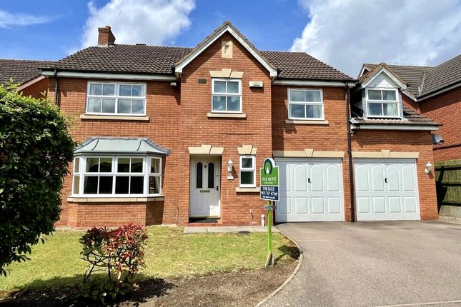 Thumbnail Detached house for sale in Brooklands Way, Marston Green, Birmingham