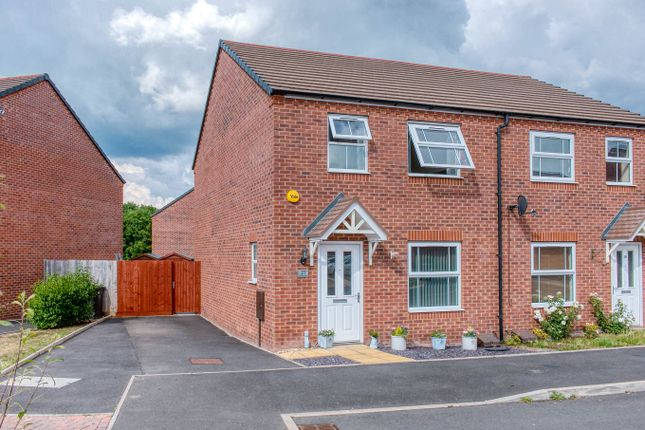 3 bed semi-detached house for sale in Kemble Street, Woodrow, Redditch B98