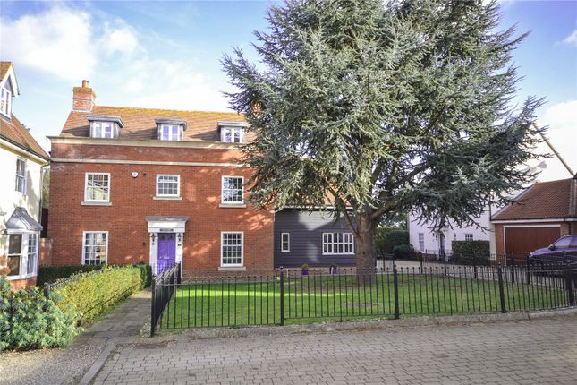 Thumbnail Detached house for sale in Post Office Road, Broomfield, Chelmsford