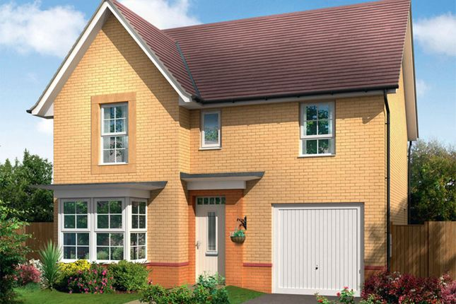 "Thumbnail Detached house for sale in ""Somerton"" at Ponds Court Business, Genesis Way, Consett"