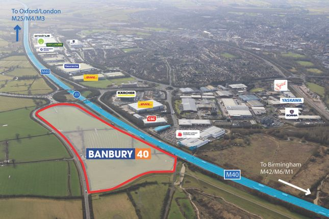 Thumbnail Industrial for sale in Adjacent To M40, Banbury