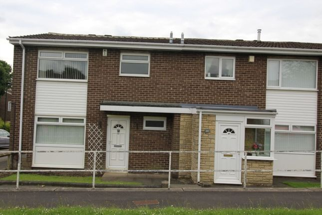Thumbnail Terraced house to rent in Burnstones, West Denton, Newcastle Upon Tyne