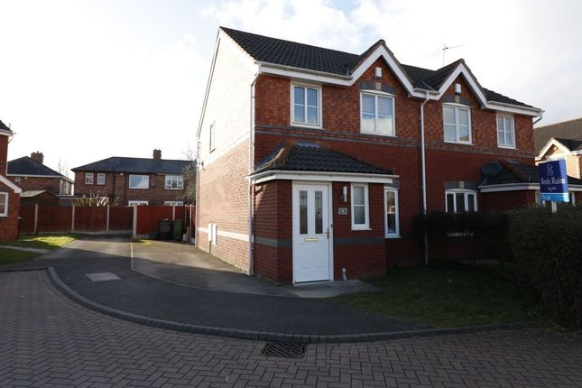 Thumbnail Semi-detached house to rent in Oakley Court, Ellesmere Port