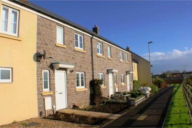Thumbnail End terrace house to rent in Morse Road, Norton Fitzwarren, Taunton