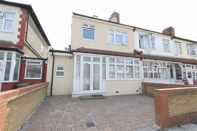 Thumbnail End terrace house for sale in Henley Road, Ilford, Essex