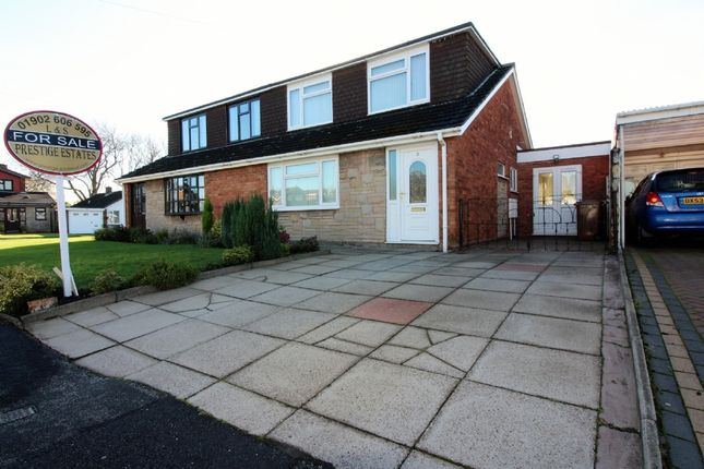 Thumbnail Semi-detached bungalow for sale in Fenn Rise, Willenhall