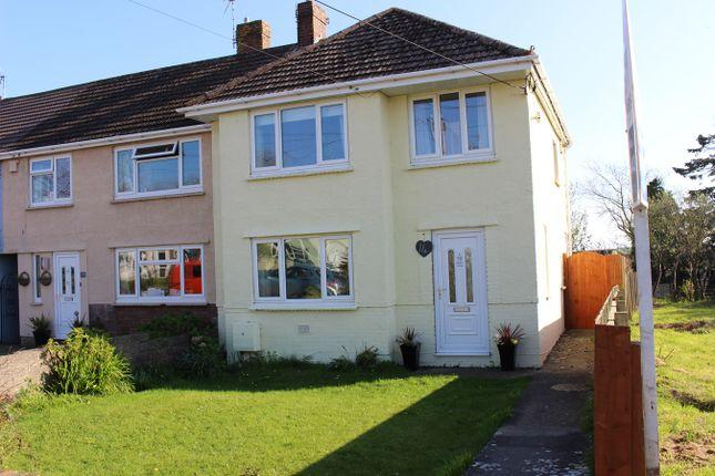 Thumbnail End terrace house for sale in Fitzhamon Avenue, Llantwit Major