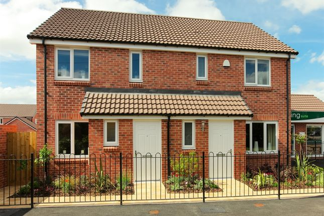 "Thumbnail Semi-detached house for sale in ""The Alnwick"" at Hewell Road, Redditch"