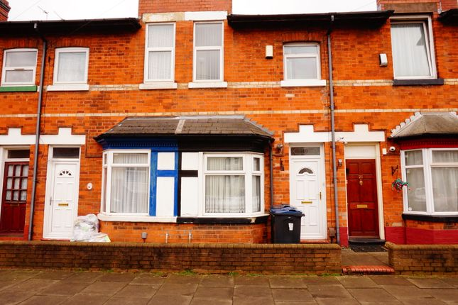 3 bed terraced house to rent in Cornwall Road, Handsworth Wood, Birmingham