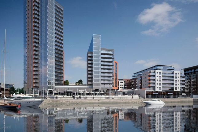 2 bed flat to rent in The Blake Building, Admirals Quay, Southampton