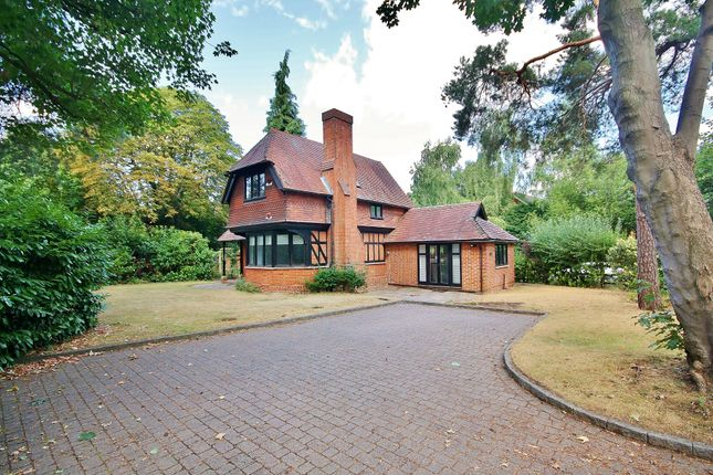 Thumbnail Detached house for sale in Oldfield Wood, Woking