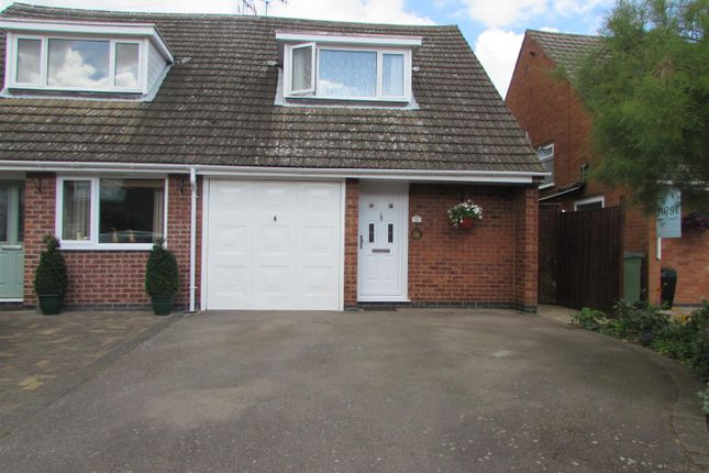 Thumbnail Semi-detached house for sale in Park Close, Cosby, Leicester