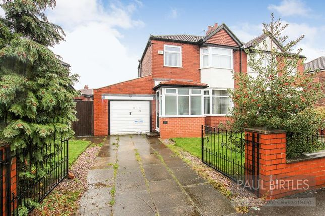 Thumbnail Semi-detached house for sale in Lostock Grove, Stretford, Manchester