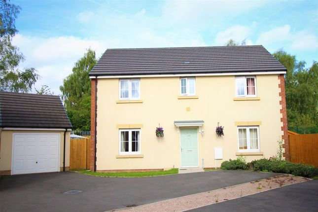 Thumbnail Detached house for sale in Parc Panteg, Griffithstown, Pontypool