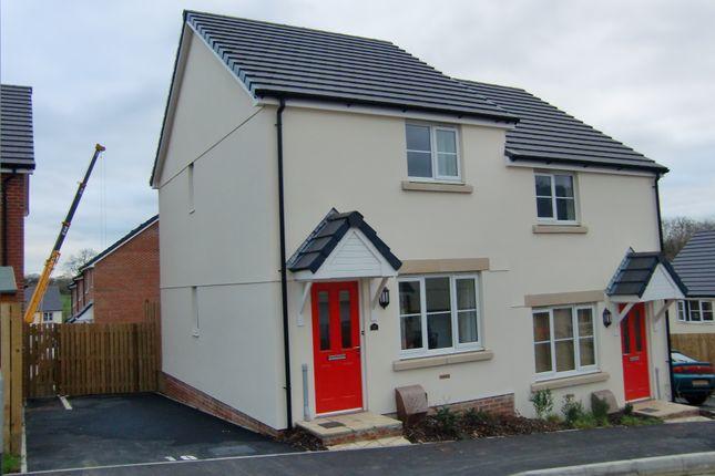Thumbnail Semi-detached house to rent in Oak Moor Drive, Launceston
