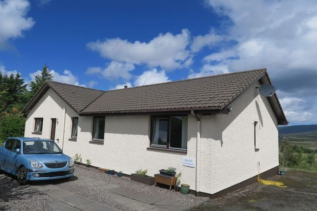 Thumbnail Detached bungalow for sale in Portree House Gardens, Portree